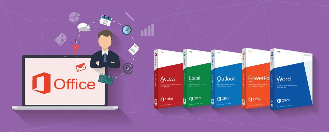 Microsoft Office 2013 & 2016