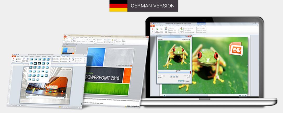 Microsoft PowerPoint 2010 - Interactive Training Programme (German)