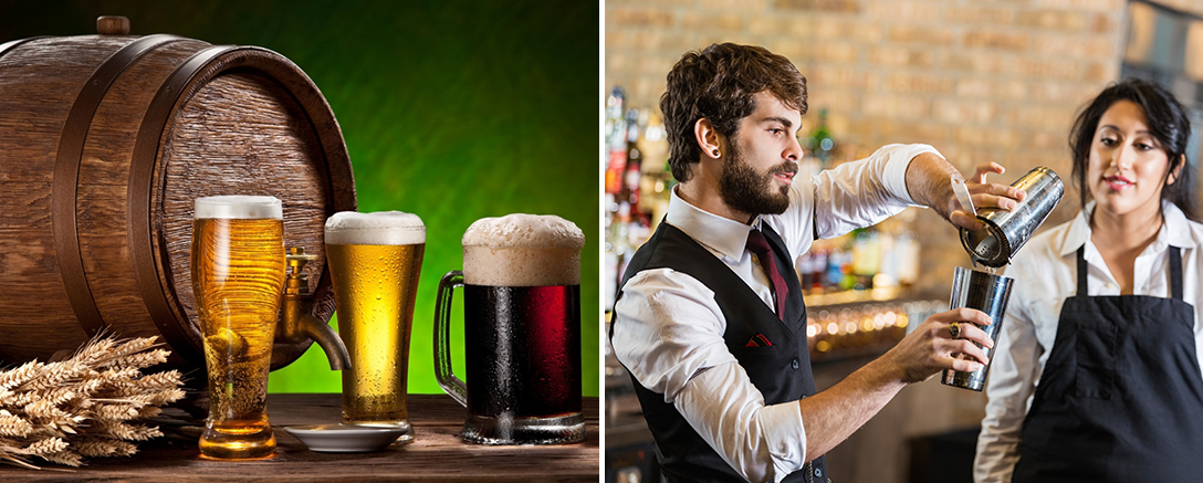 Beer Brewing, Bartending & Drink Mixologist Master Course
