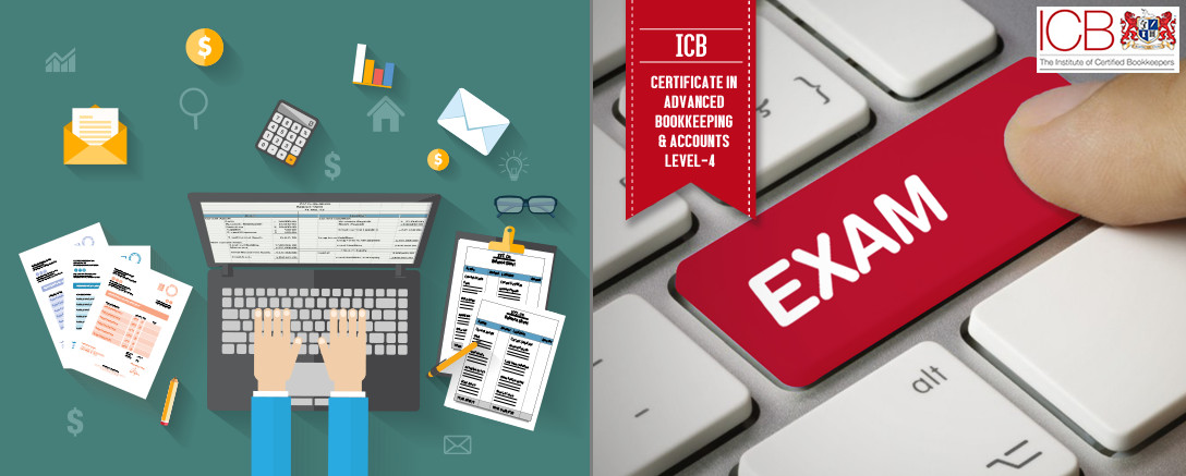 ICB Member - Level 4 Certificate in Advanced Bookkeeping & Accounts (Course with Exam) (L4MA, L4DFS, L4PT, L4BT, FR105)