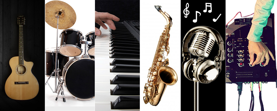 Guitar, Drums, Keyboards, Woodwind, Podcasts & DJ. Recording & Music Master Package