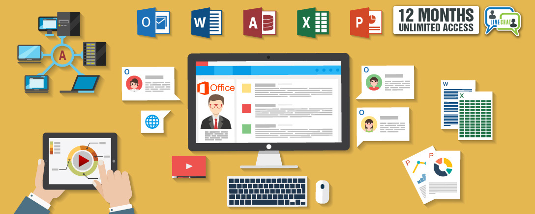 Computing Basics & Microsoft Office Live Chat Tutor Support