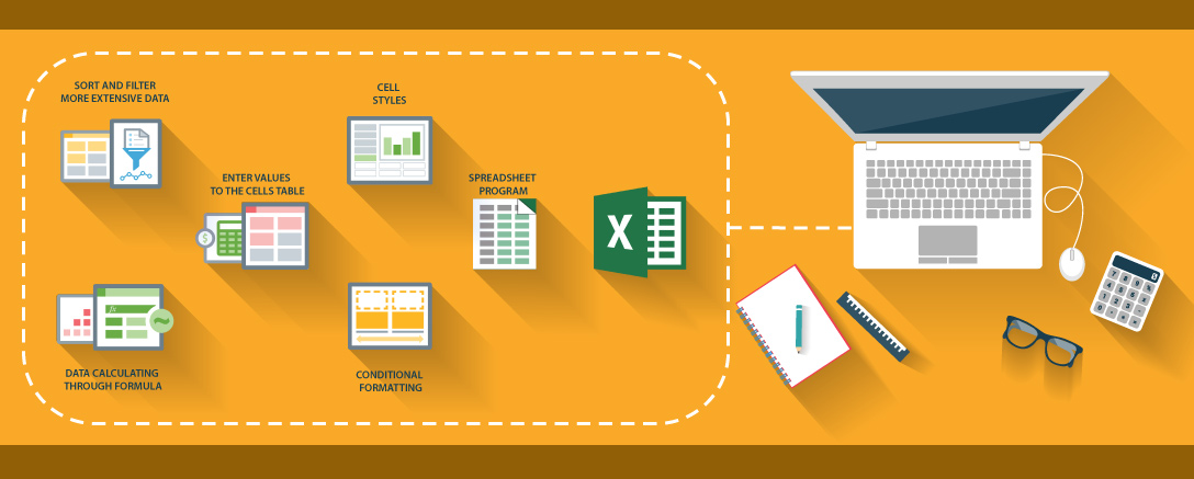 MS Excel 2016 – Set of 3 Interactive Courses