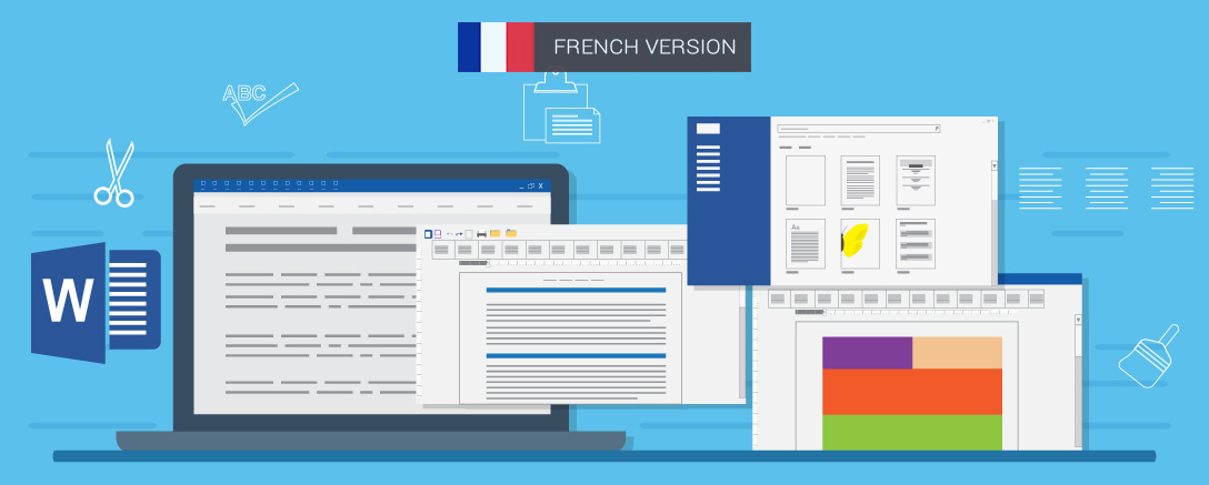 MS Word - 2013 Package – Introduction, Intermediate And Advanced (French)