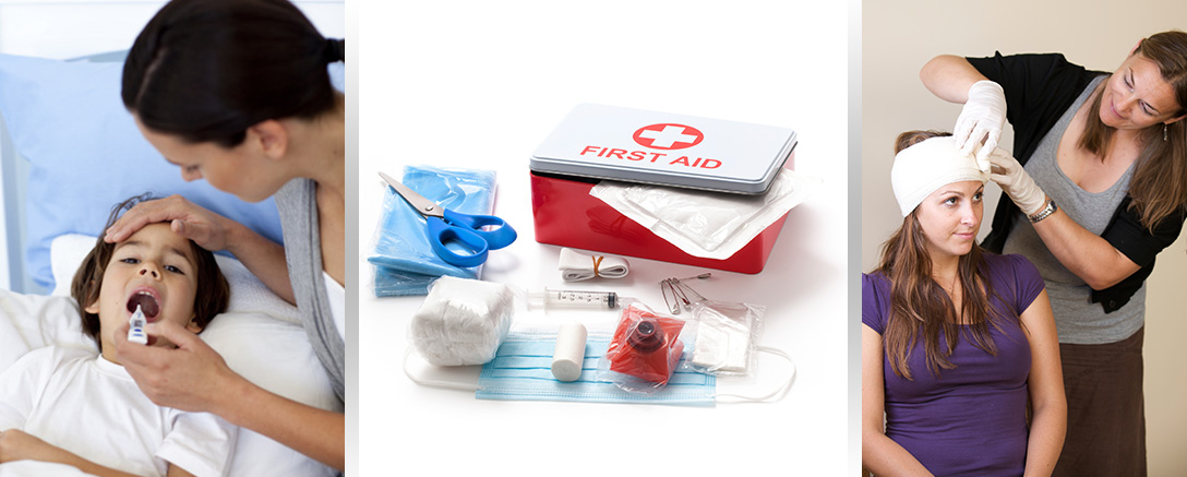 Emergency First Aid For Work and Family