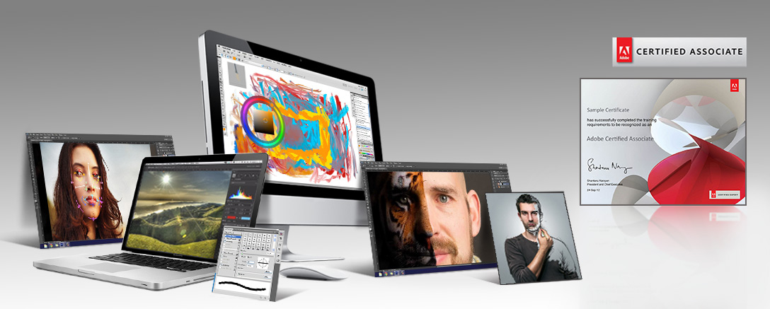 Official Adobe Photoshop (ACA) Complete Training & Certification Programme