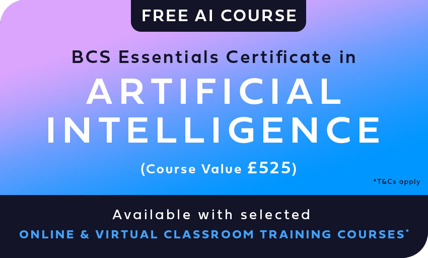 BCS Artificial Intelligence Foundation Certificate – Classroom Course in Portsmouth
