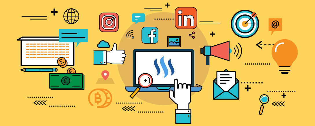 Earn Cryptocurrency Using Social Network: Steemit