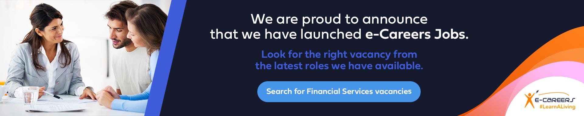 Financial Services vacancies