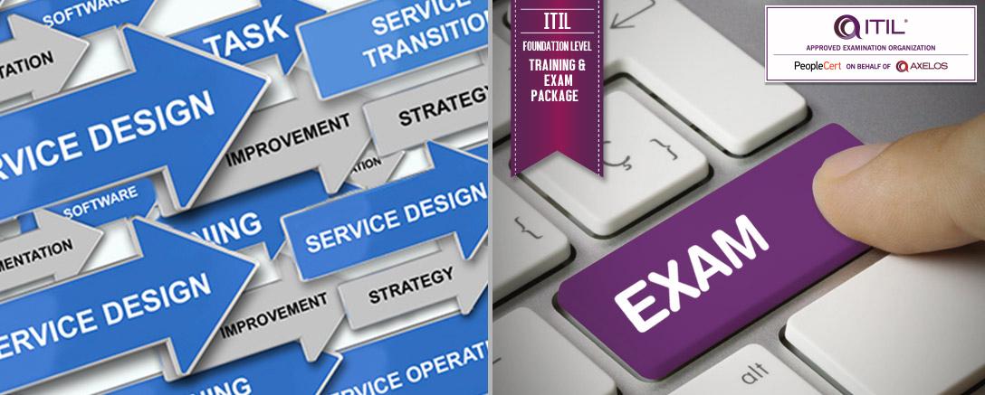 ITIL® Foundation Level - Training & Exam Package