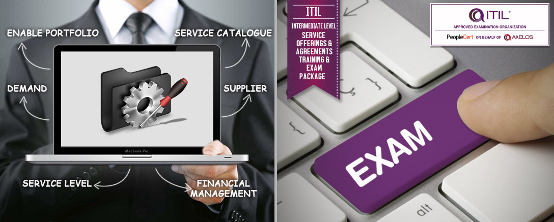 ITIL® Intermediate Level - Service Offerings & Agreements (SOA) Training & Exam Package