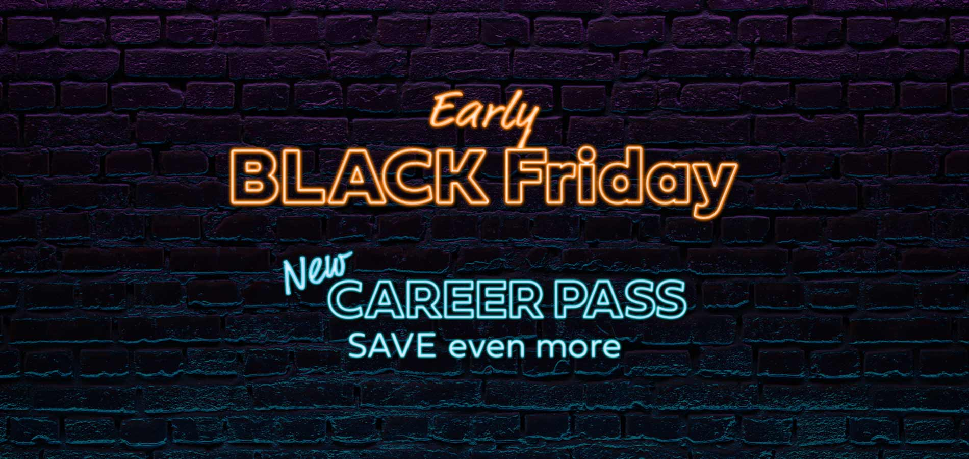Save up to 50% with our Black Friday Promotion