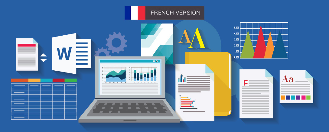 MS Word 2016 Package – Introduction, Intermediate and Advanced (French)