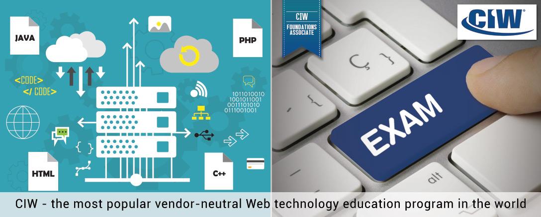 CIW Web Foundations Associate Training with Exam (1D0-610)