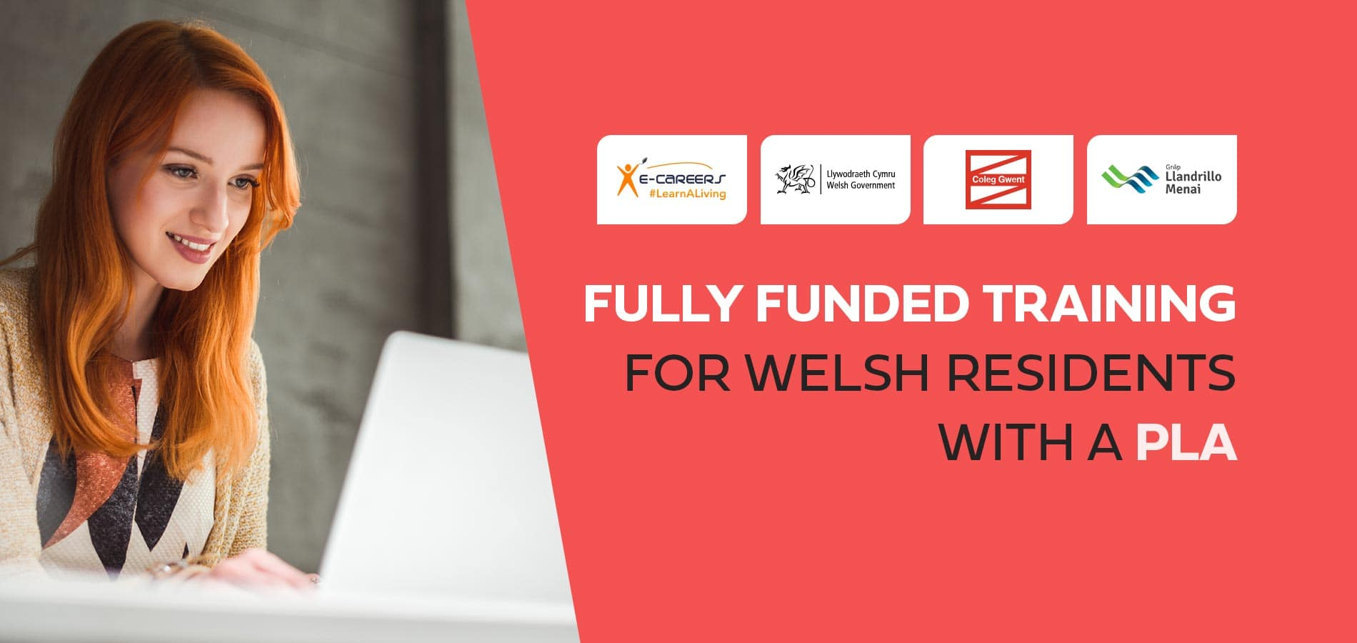 e-Careers partners with the Welsh Government, Coleg Gwent & GLLM to offer FREE training