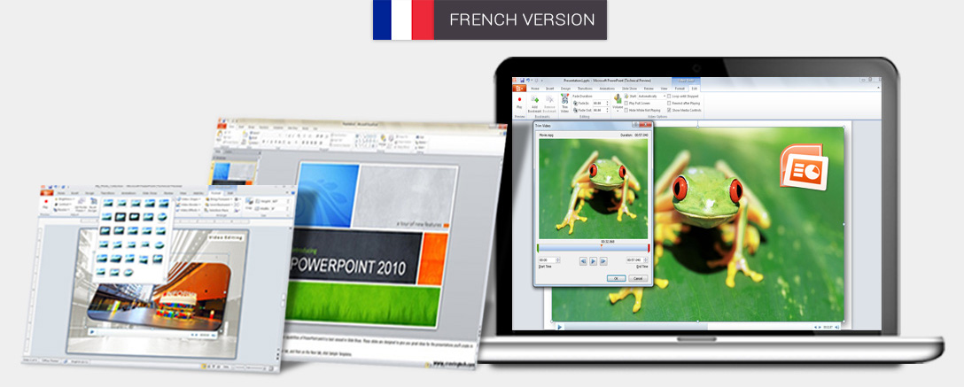 Microsoft PowerPoint 2010 - Interactive Training Programme (French)