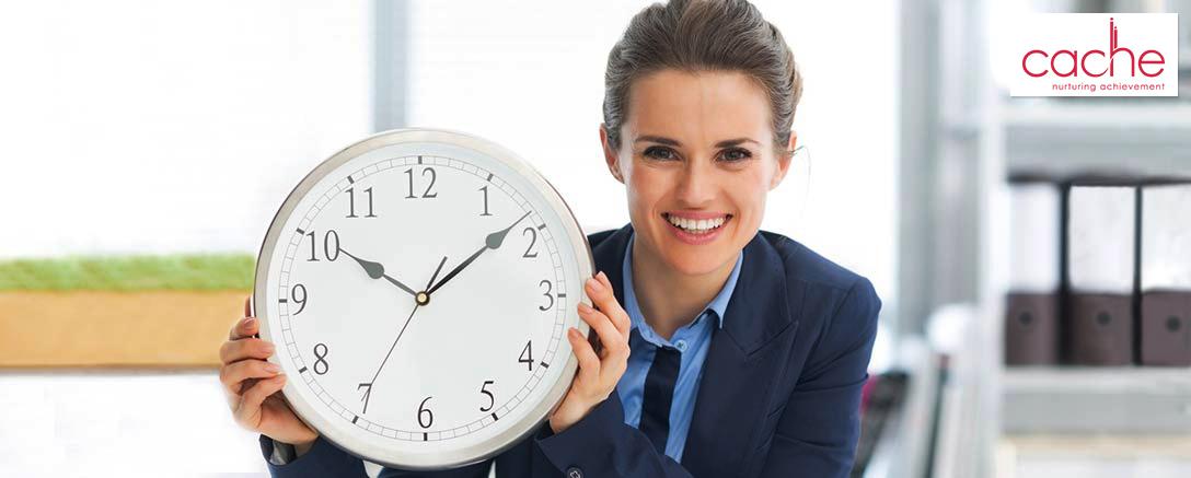 CACHE Endorsed Time Management