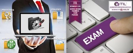 ITIL® Intermediate Level - Service Design (SD) Training & Exam Package