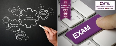 ITIL® Intermediate Level - Service Lifecycle Modules SS, SD, ST, SO, CSI Training & Exam Package