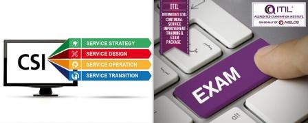 ITIL® Intermediate Level - Continual Service Improvement (CSI) Training & Exam Package