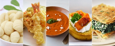 Healthy Cooking Course with 21 International Recipes