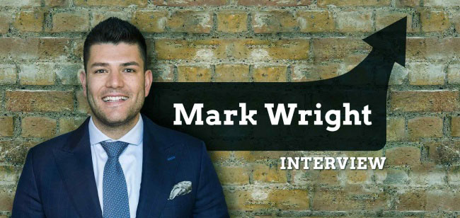 BBC Apprentice winner Mark Wright sets his own course