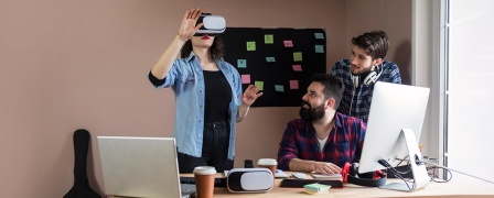 Create Your Own VR Headset Game