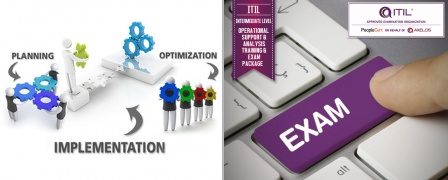 ITIL® Intermediate Level - Operational Support & Analysis (OSA) Training & Exam Package