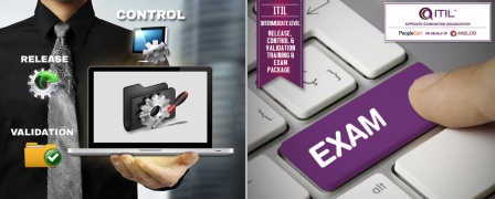 ITIL® Intermediate Level - Release, Control & Validation (RCV) Training & Exam Package