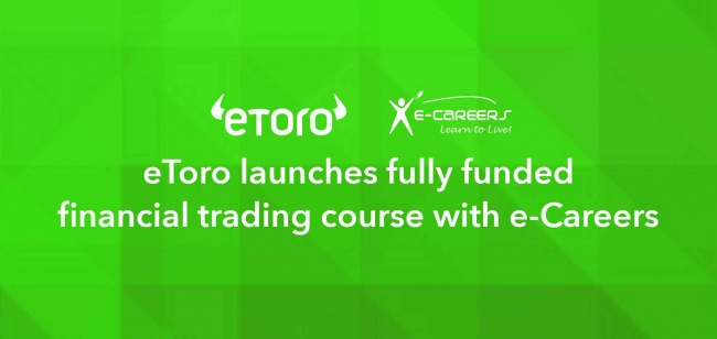 eToro launches fully funded financial trading course