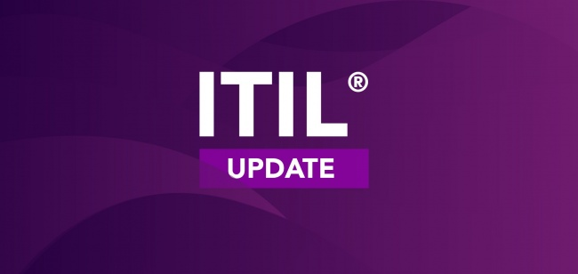 Another update, this time, it's ITIL®
