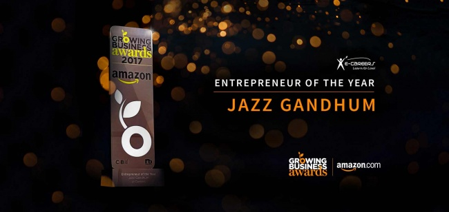 e-Careers' CEO Jazz Gandhum receives leading award
